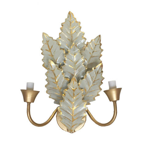 Margot Sconce in Grey