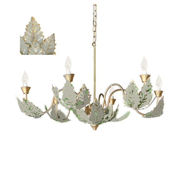 Margot Chandelier in Grey