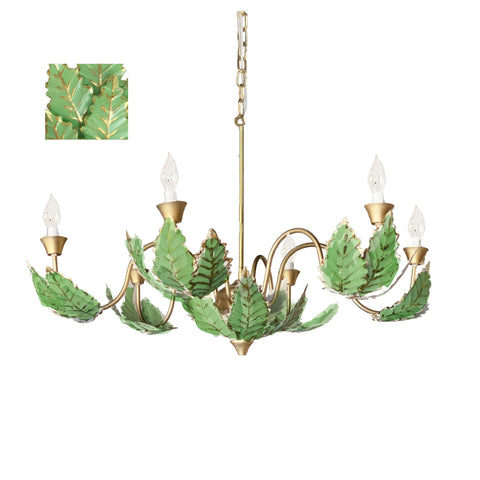 Margot Chandelier in Green