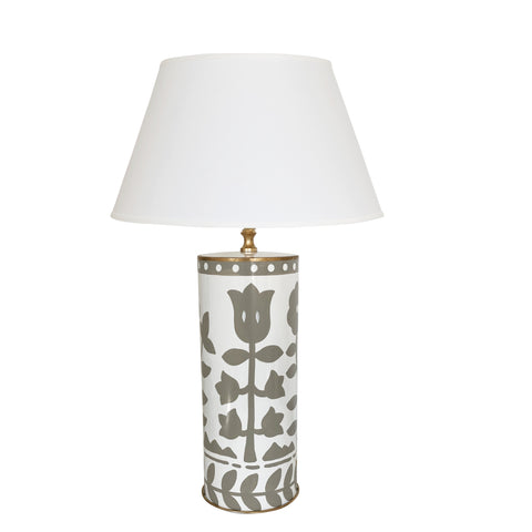 Bertrams Lamp in Grey