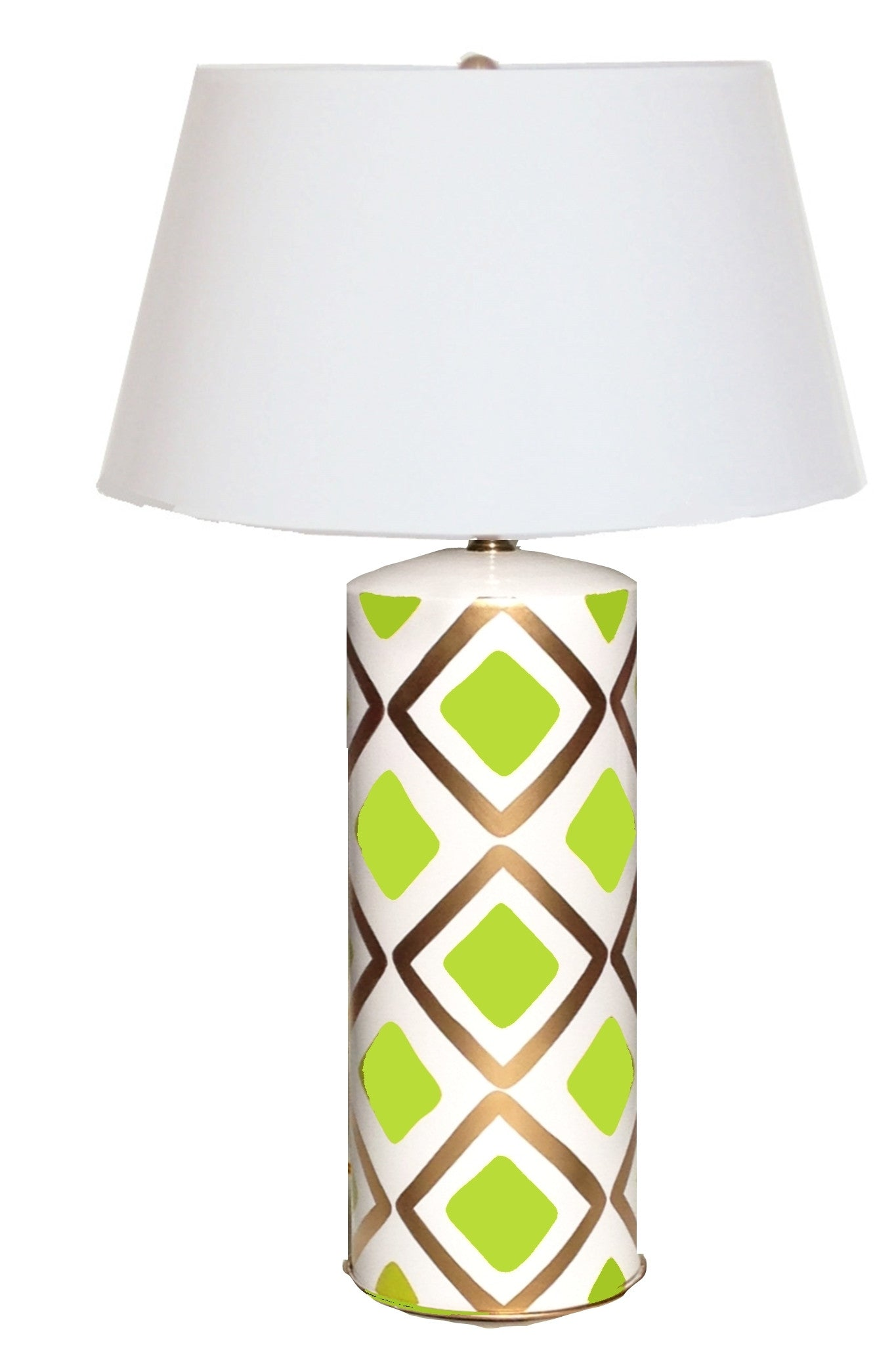 Haslam Lamp in Lime