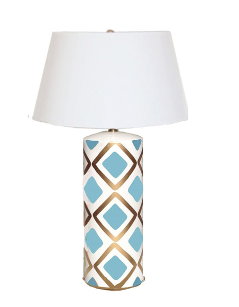 Haslam Lamp in Turquoise