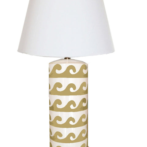 Wave Lamp in Taupe