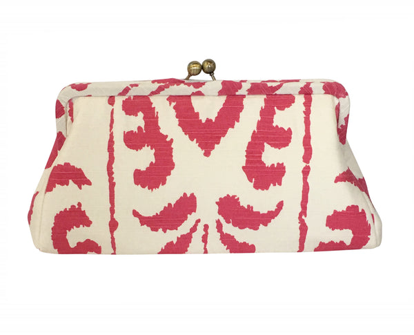 Madagascar in Pink Clutch