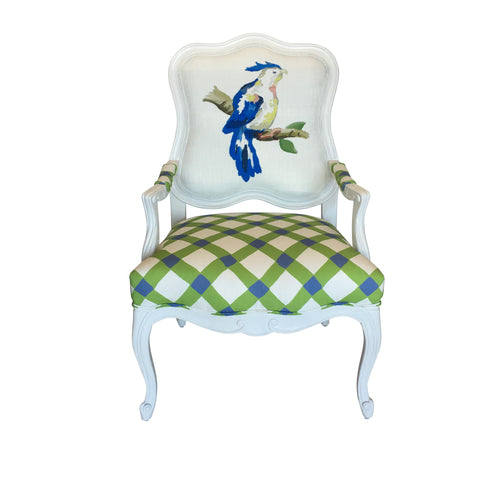 Parrot Chair in Blue