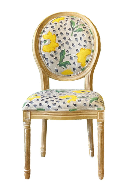 Jaipur in Yellow Side Chair