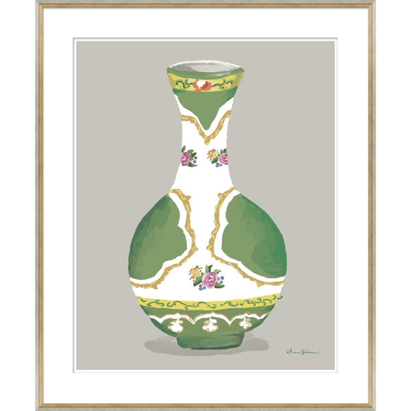 Minton in Green Vase