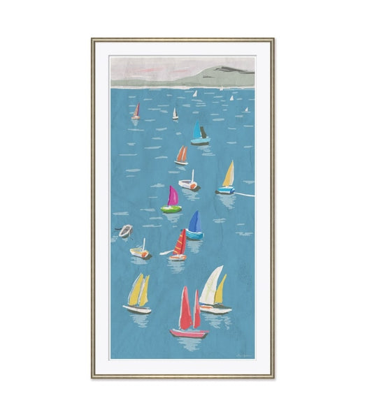 Regatta in Blue
