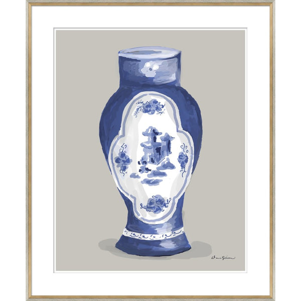 Derby Vase in Blue