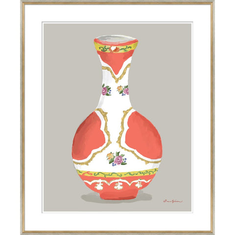 Minton Vase in Orange