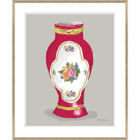 Derby Vase in Red