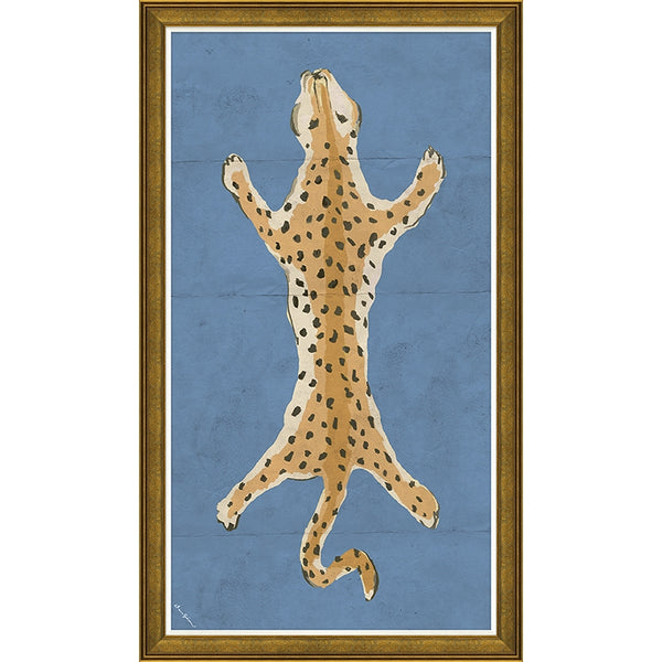 Large Leopard in Blue