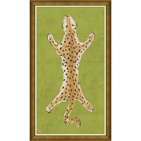 Large Leopard in Green