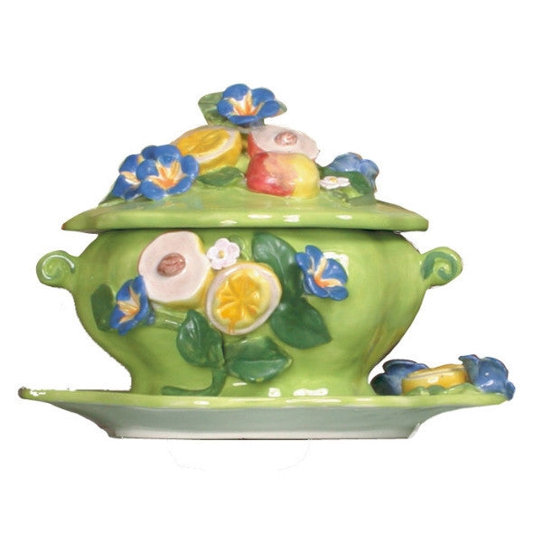 Morning Glory Tureen