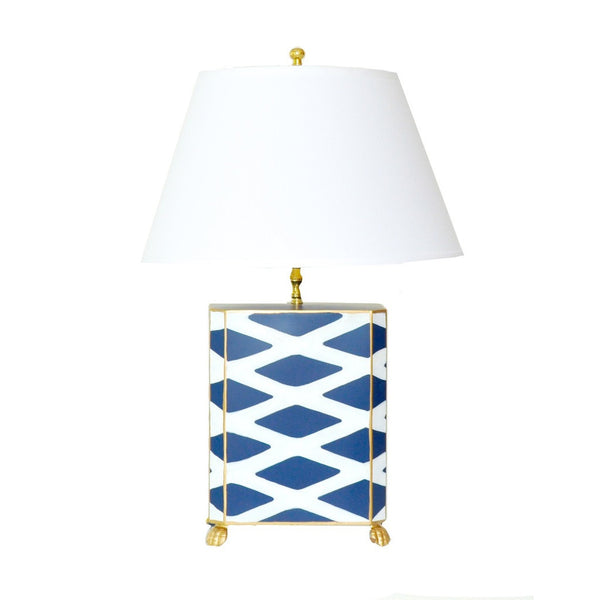 Parthenon Lamp in Navy