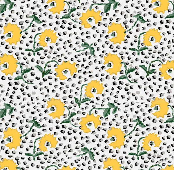 Jaipur in Yellow Wall Paper and Fabric