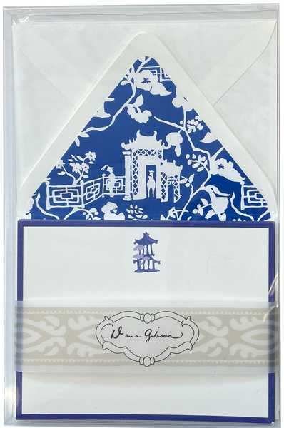 Dana Gibson Xanadu Medallion Stationery