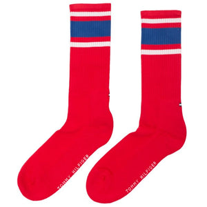 TOMMY HILFIGER UNI NERD RED SOCKS