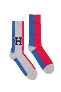 TOMMY HILFIGER BIG H BLOCK SOCKS