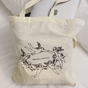 The Angel Cotton Bag