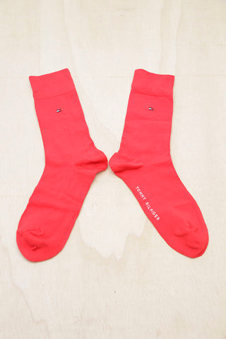 TOMMY HILFIGER FREEBIRD RED SOCKS