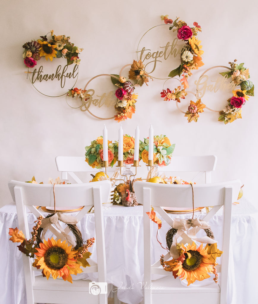 3 Easy Decor Tips For Your Thanksgiving Table