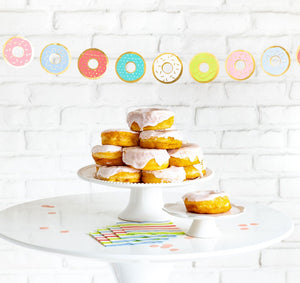 Bakery Donut Banner - A Little Confetti