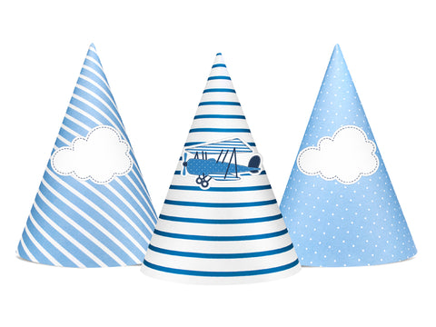 Little Plane Party Hats
