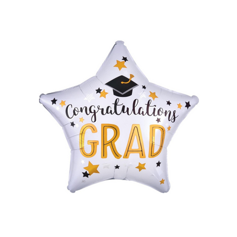 Congratulations Grad Star Balloon