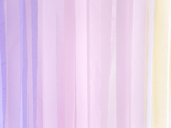 Lilac Crepe Paper Streamer