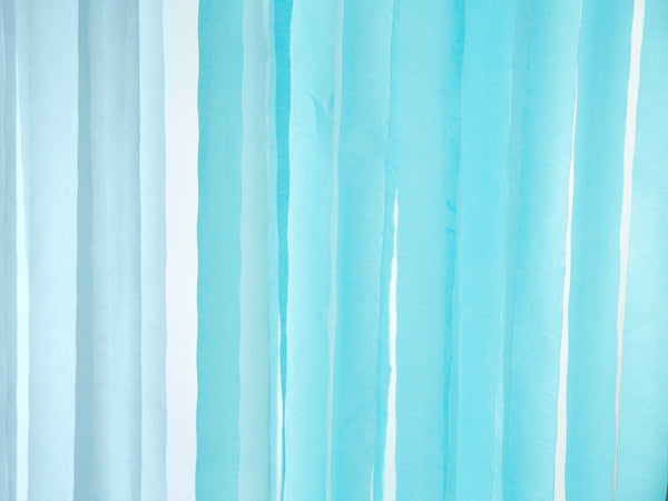 Turquoise Crepe Paper Streamer
