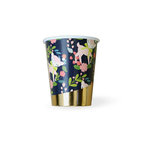 Deer Woodland Animals Party Cups