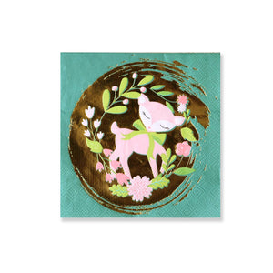 Deer / Woodland Small Napkins