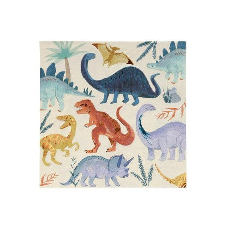 Dinosaur Kingdom Large Napkins