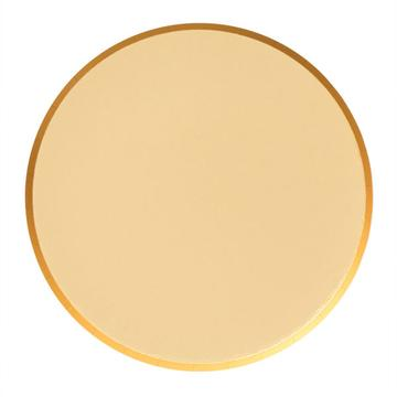Gold Large Plates - A Little Confetti