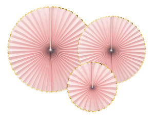 Light Pink Party Fans