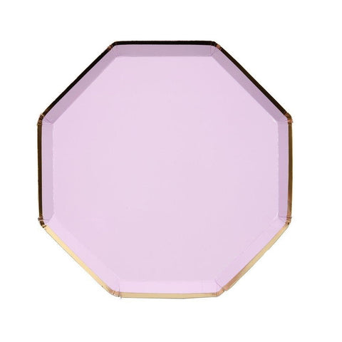 Lilac Side Plates - A Little Confetti