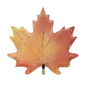 Maple Leaf Plates