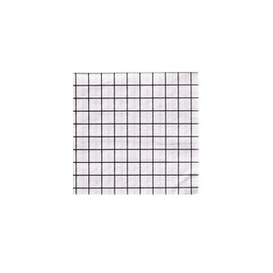 Black and White Grid Cocktail Napkins - A Little Confetti