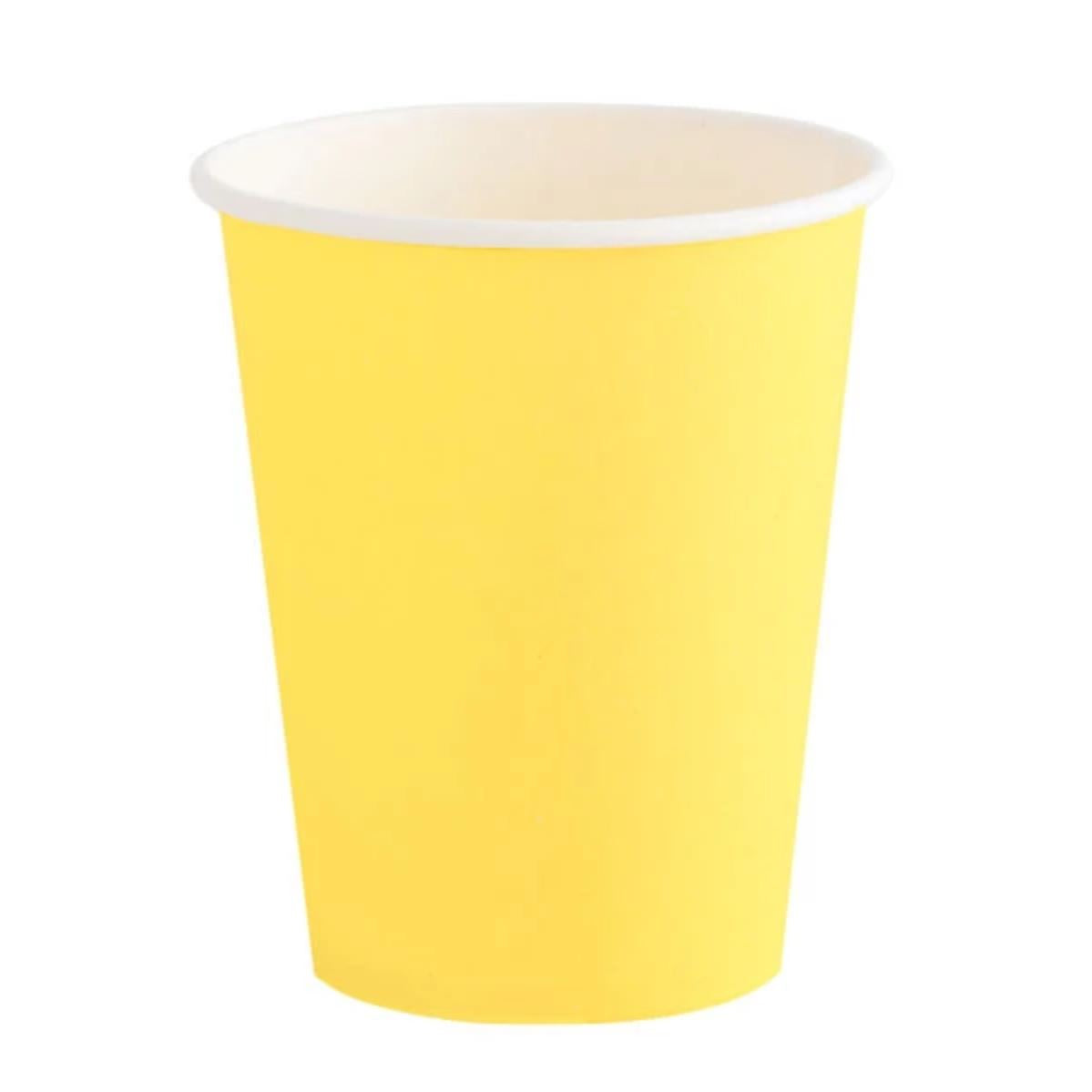 Happy Yellow Cups - A Little Confetti