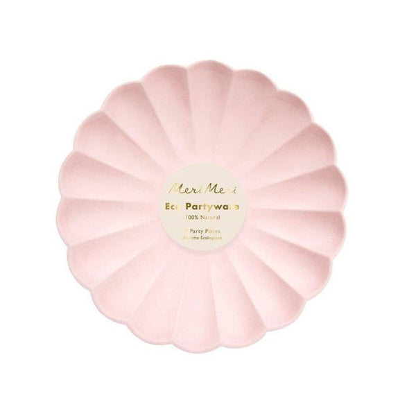 Pale Pink Simply Eco Small Plates