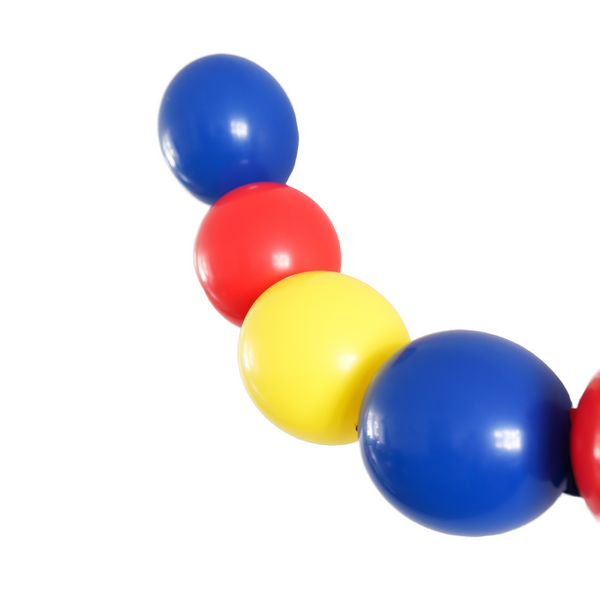 Primary Colours Linkable Balloon Garland - A Little Confetti