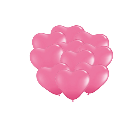 Rose Heart Balloons
