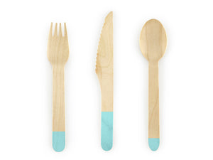 Mint Wooden Cutlery