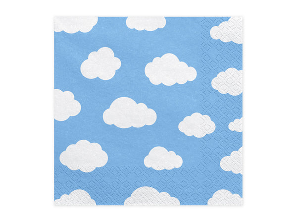 Little Plane Cloud Napkins