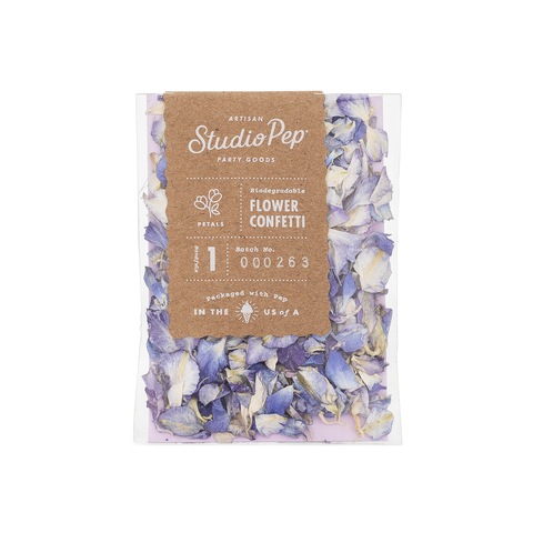 Something Blue Flower Confetti Mini Pack - A Little Confetti