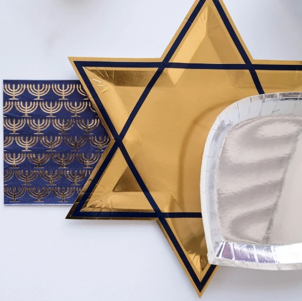 Star of David Large Plates