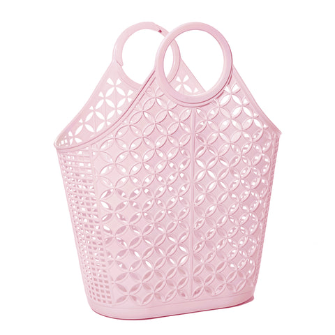 Pink Atomic Tote Sun Jellies - A Little Confetti