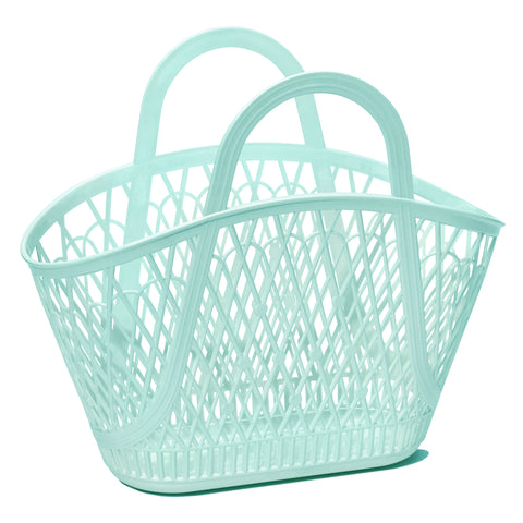 Mint Betty Basket by Sun Jellies, at A Little Confetti