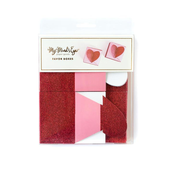 Valentine's Heart Favour Boxes